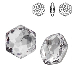 4683 MM 12 Swarovski Fantasy Hexagon CRYSTAL F