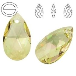 6106 MM 22 Swarovski Pear-shaped LUMINOUS GREEN