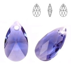 6106 MM 22 Swarovski Pear-shaped TANZANITE