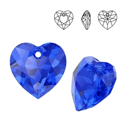 6432 MM 14,5 Swarovski Heart Cut MAJESTIC BLUE