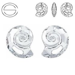 6731 MM 14 Swarovski Sea Snail CRYSTAL