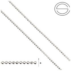 CPL 1,5 Sterling Silver 925 Silver Chain for Jewelry Making