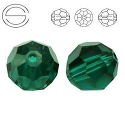 5000 MM 10 Swarovski Beads EMERALD