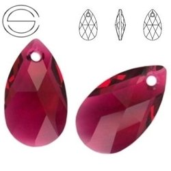 6106 MM 22 Swarovski Pear-shaped RUBY