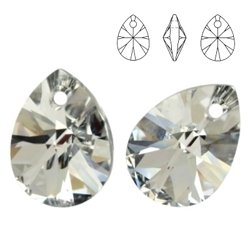 6128 MM 8 Swarovski Mini Pear Crystal CAL