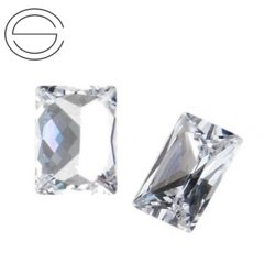 BT II MM 6 x 4 Cyrkonia (Cubic zircon) CRYSTAL